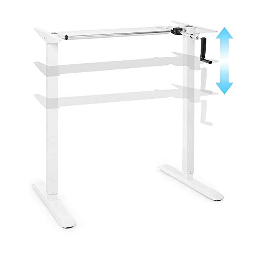 oneConcept Multidesk Base de Escritorio de Altura Regulable, Capacidad Carga hasta 70...