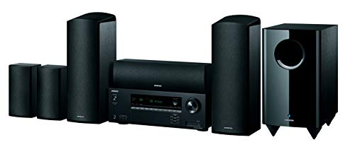 ONKYO HT-S5915 - Home Cinema Color Negro, Canales 5.1.2