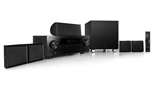 Pioneer HTP-074-S - Pack Receptor A/V y Altavoces (con 4K Pass Through y Altavoces...