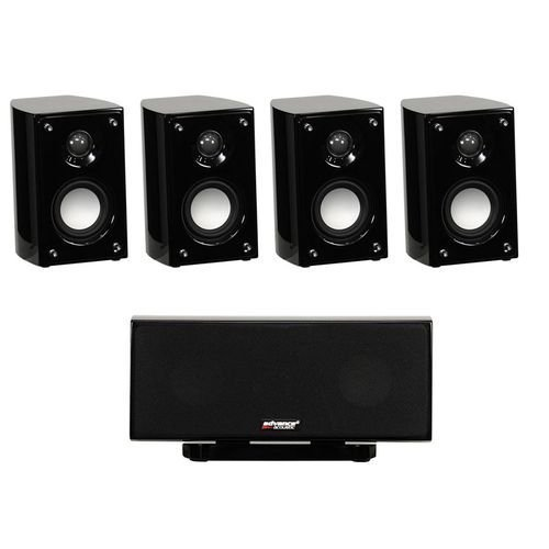 ADVANCE ACOUSTIC EZY 500 sin subwoofer sistema Home Theatre altavoces 5.0 nuevo