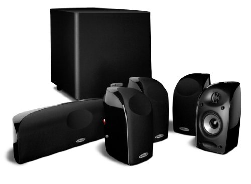 Home Cinema 5.1 - Polk Audio TL1600, 180W, Bass Reflex, Negro