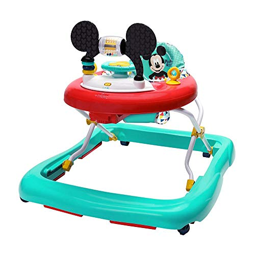 Bright Starts, Disney Baby Andador y Centro de actividades Mickey Happy Triangles, 6+...