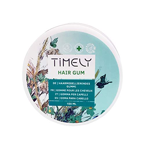 Timely - Gomina para el pelo ligera y duradera, 100 ml