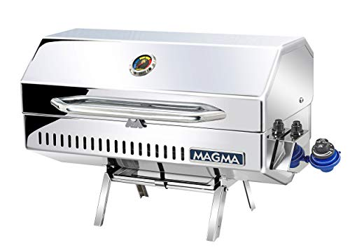 Magma Products Monterey 2 Gourmet Series Gas Grill, Polished Stainless Steel