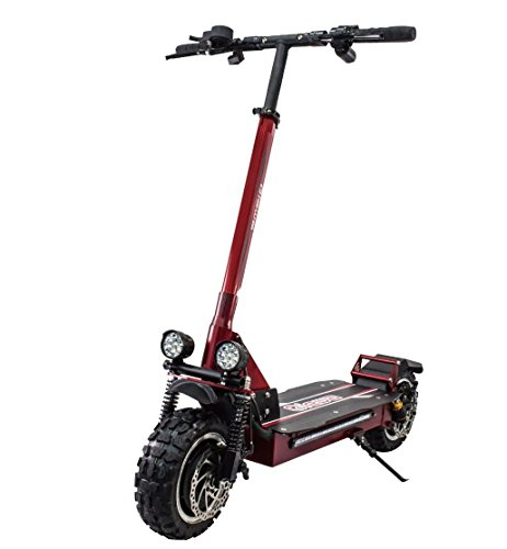Qiewa Qpower Electric off-road Scooter 1200W Duble Motor with 11-inch off-road tires...