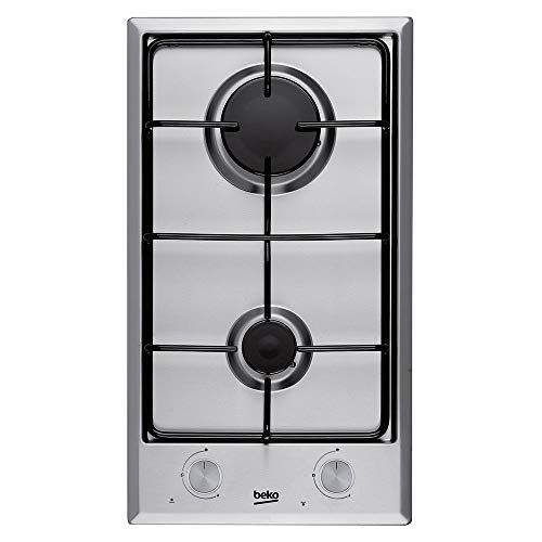 Beko HDCG 32220 FX Integrado Encimera de gas Acero inoxidable hobs - Placa...