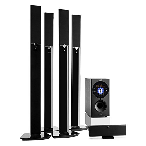 auna Areal 653 - Home Cinema 5.1, Sistema Sonido Surround, Concept 620 Envolvente,...