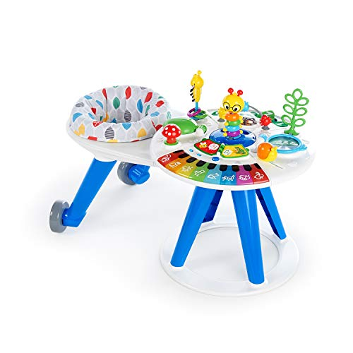 Baby Einstein, Andador y Centro de Actividades Multilingue 4 en 1 Around We Grow, 6 -...