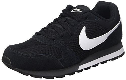 Nike MD Runner 2, Zapatillas Hombre, Negro (Black/White Anthracite), 42.5 EU