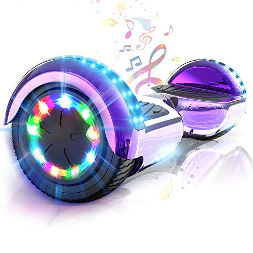 COLORWAY Hoverboard Patinete Eléctrico Auto Equilibrio Hover Scooter Board 6.5...