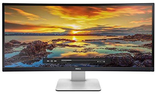 Dell U3415W - Monitor de 34' UHD (LED, 300, CD/m² 1000:1, 5, ms) Color Negro