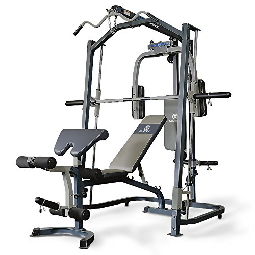 Marcy Smith machine MP3100, Rack de musculación multifunción, Sentadillas con Peso...