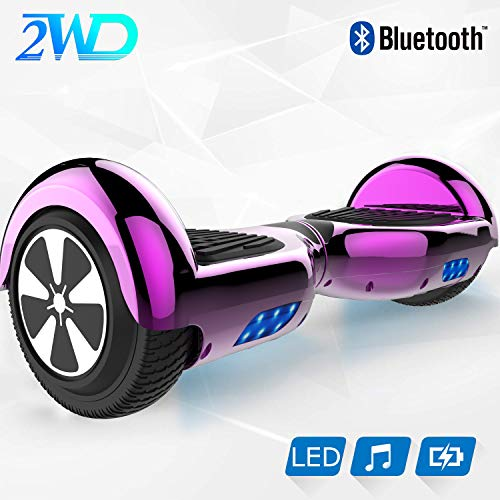 2WD Hoverboard Scooter eléctrico Patinetes eléctricos Self-Balanced Scooter 6.5...