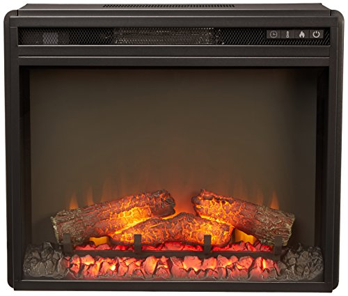 Ashley Furniture Signature Design - Small Electric Fireplace Insert - Includes Insert...
