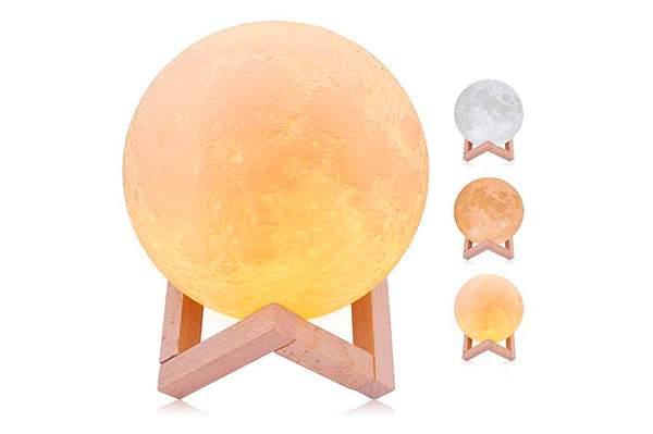 Lamparas con forma de Luna