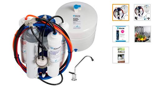Home Master TMULTRA Ultra Undersink Reverse Osmosis Water Filter System by Home Master