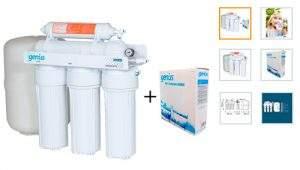 HiKiNS Sistema de filtración de Agua de ósmosis inversa RO-125G