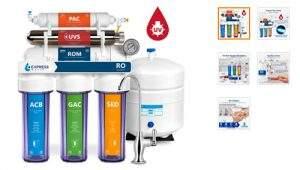 Express Water Sistema de filtrado de agua UV