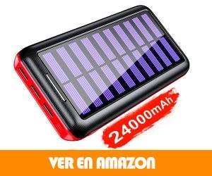 Comprar Cargador Portátil Solar KEDRON Power Bank