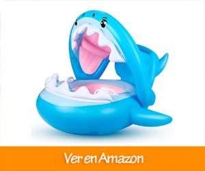 Comprar Flotador para Bebé Piscina Tiburón