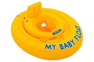 El mejor Flotador para bebes color amarillo