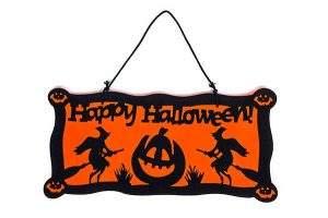 Cartel de bienvenida Decoraciones para Puertas Halloween