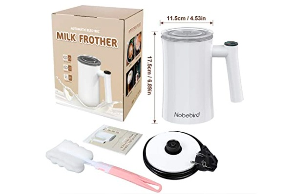 Nobebird espumador de leche eléctrico