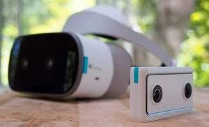 Cámara Mirage con Daydream VR 180º