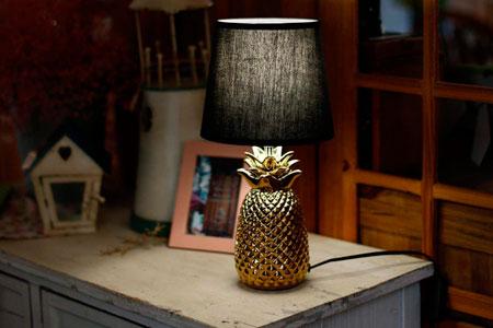 Lámpara de Mesita de Noche Vintage Aigostar