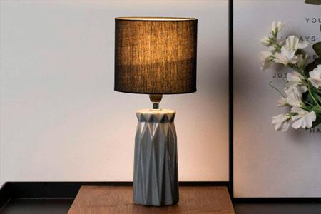Lámpara de Mesita de Noche Vintage Pauleen