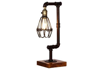 Lámpara de Mesita de Noche Vintage Vendimia