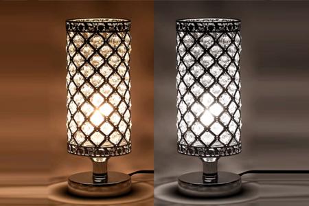 Tomshine lámparas de mesita de noche vintage