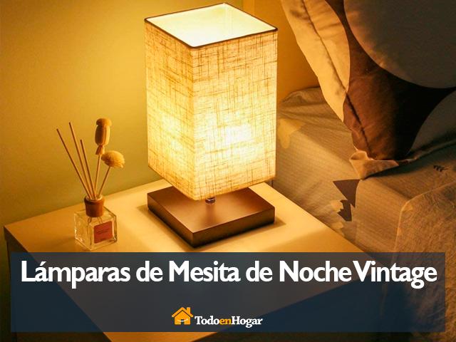 Mejores lámparas de mesita de noche vintage