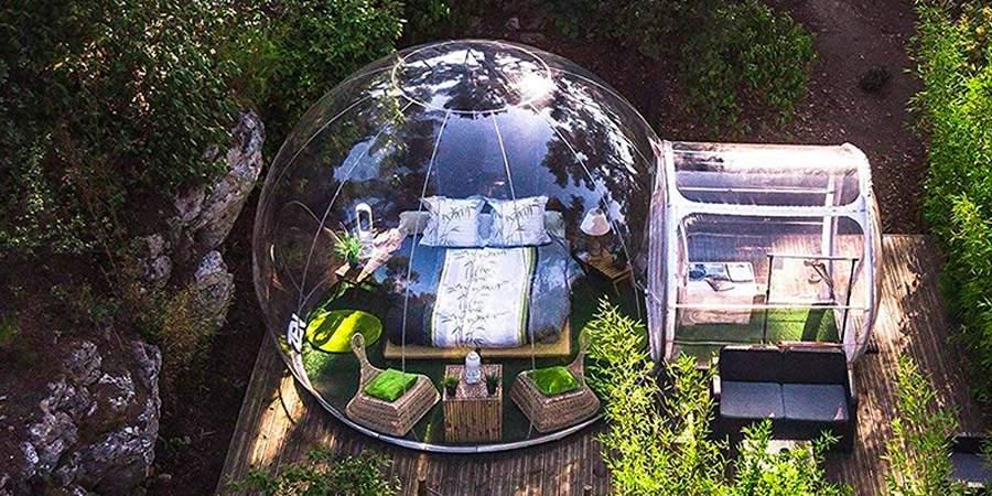 Tienda bubble
