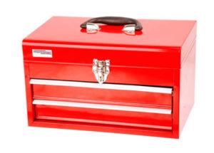 Caja de herramientas equipada con 155 piezas