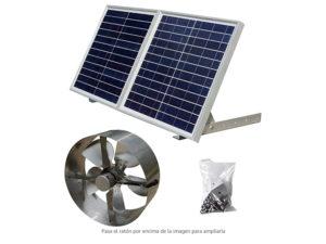 Mejores Ventiladores Solares ECO-WORTHY 25W