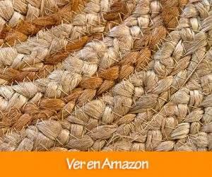 Comprar Alfombra 100% Fibra de Yute HAMID Redonda