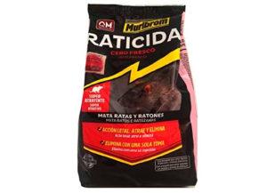 Raticida en Bloque 200g Quimunsa
