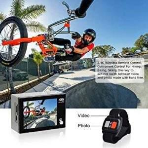 Comprar Camara de deportiva Campark ACT74 4k WiFi 20MP