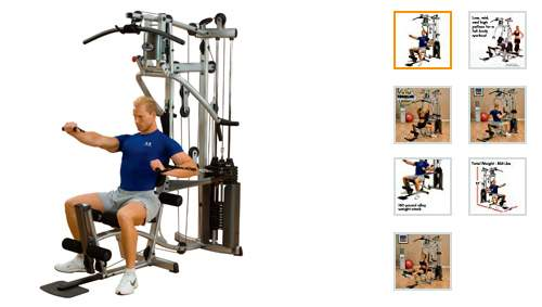Mejor Máquina de Gimnasio en Casa Body Solid Powerline Home Gym