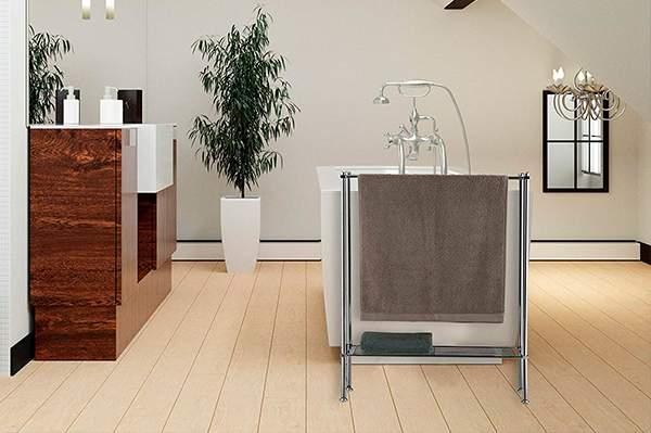 65x20x110cm Hjypmjj Toalleros de pie,Metal Resistente al /óxido Toallero con,Toalleros de pie para ba/ño,accesorios de ba/ño,Toallero Perchero//dorado