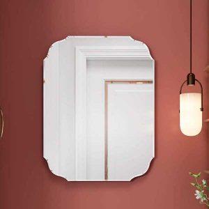 Espejo de pared redondo sin marco