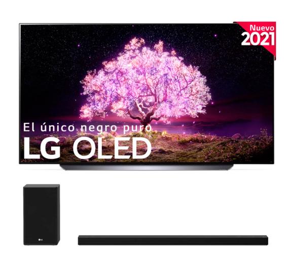 Mejores televisores con tecnología OLED LG OLED65C1