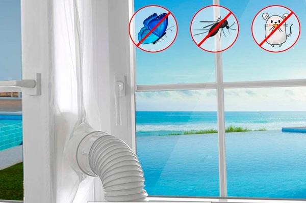 Sello de ventana para Aire Acondicionado