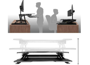Estación de Trabajo para Monitor con Altura Ajustable