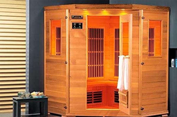 Lars 4 Topline – Cabina de infrarrojos Sauna 2000 W