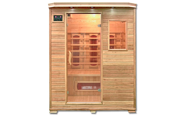 Home Deluxe Cabina de Sauna Infrarrojo Redsun L