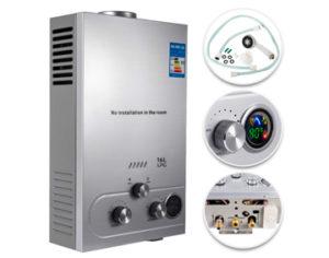Calentadores de agua eléctricos sin tanque 1 VEVOR