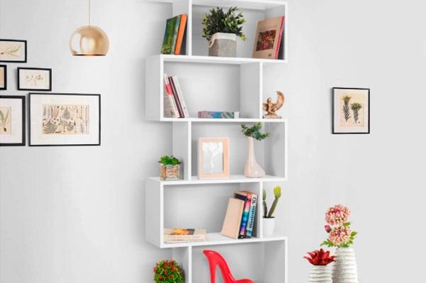 Estanterías de pared para Libros