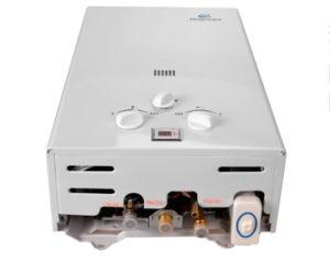 Iglobalbuy Calentador de agua a gas atmosférico sin tanque